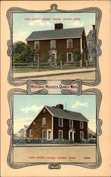 Historic Houses - John Adams' House & John Quincy Adams' House