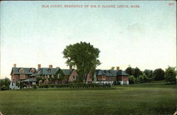 Elm Court, residence of Wm. D. Sloane
