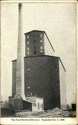 The Fatal Richford Elevator Postcard