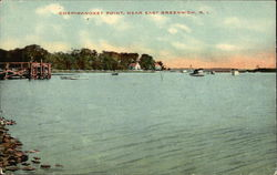 Chepiwanoxet Point Postcard