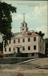 The Kent County Court House Postcard