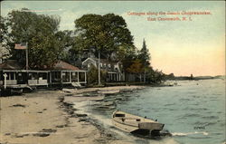 Cottages along the Beach Chopiwanoxet Postcard