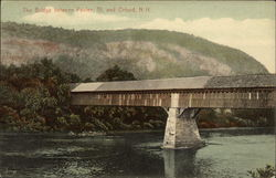 The Covered Bridge Between Fairlee, Vermont and Orford, New Hampshire