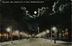 The White Way, Hanover Street At Night