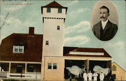 U. S. Life Saving Station Postcard
