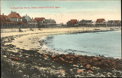 Cottages and Beach, Sandy Hills