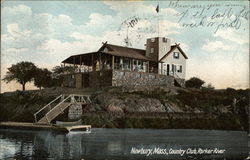 Country Club, Parker River Postcard