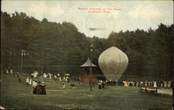 Baloon Ascension at The Pines Postcard