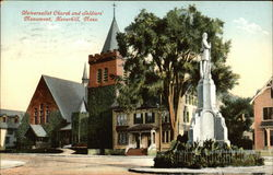 Universalist Church and Soldiers Monument