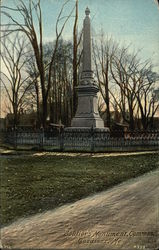 Soldiers Monument, Common