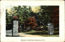 Entrance to Ross Park