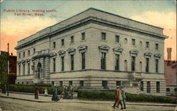 Public Library, looking south, Fall River, Mass.