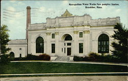 Metropolitan Water Works New Pumping Station