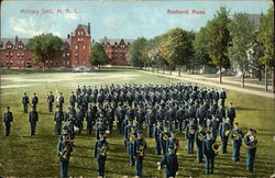 Military Drill, M.A.C., Amherst, Mass.