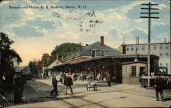Boston and Maine R.R. Station