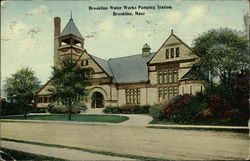 Brookline Water Works Pumping Station