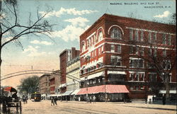 Masonic Building and Elm St.