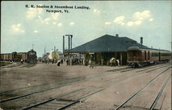 R. R. Station and Steamboat Landing