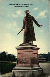 Prescott Statue, at Bunker Hill
