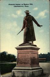 Prescott Statue, at Bunker Hill