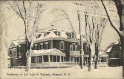 Residence of Col. Seth M. Richards