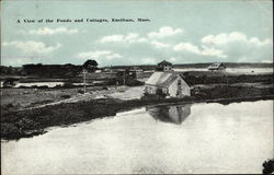 A View of the Ponds and Cottages