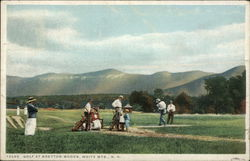 Golf in the White Mountains