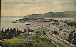 Tadoussac Hotel, from the Village