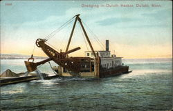 Dredging in Duluth Harbor