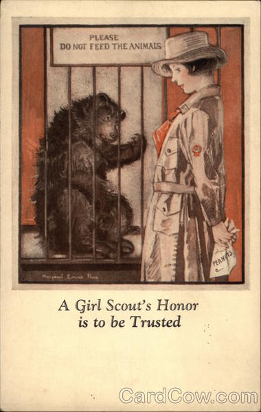 A Girl Scout's Honor is to be Trusted Girl Scouts