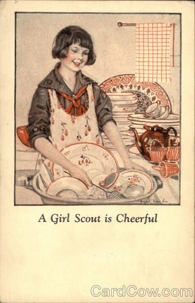 A Girl Scout Is Cheerful Girl Scouts