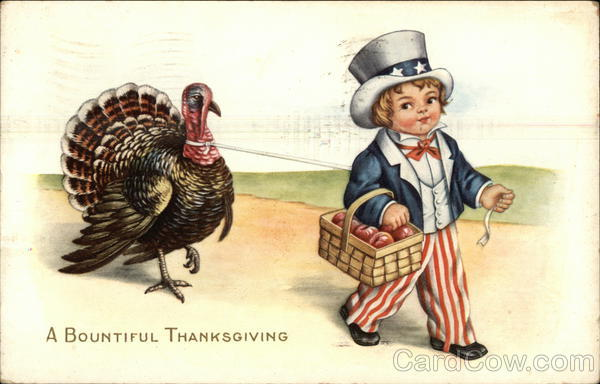 A Bountiful Thanksgiving Patriotic