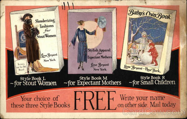 Lane Bryant Style Books Catalogs Advertising