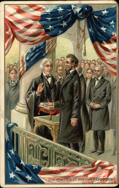 Inauguration of Abraham Lincoln Patriotic