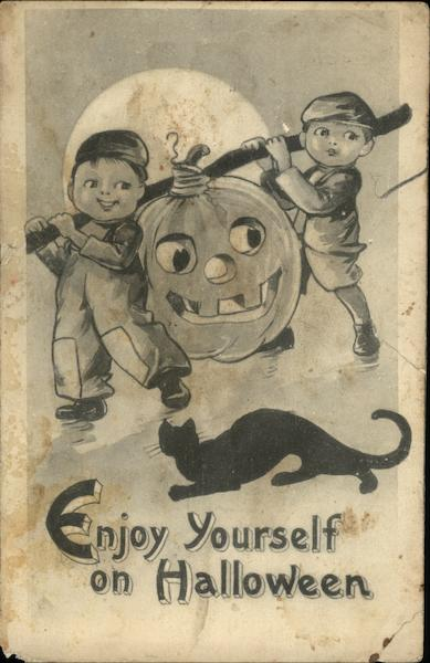 Enjoy Yourself On Halloween