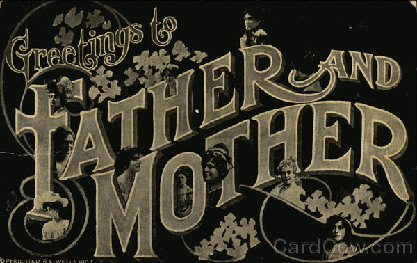 Greetings to Father and Mother