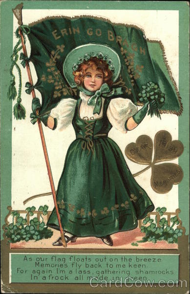 Erin Go Bragh (Irish Girl) St. Patrick's Day
