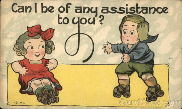 Can I Be Of Any Assistance To You? Comic, Funny