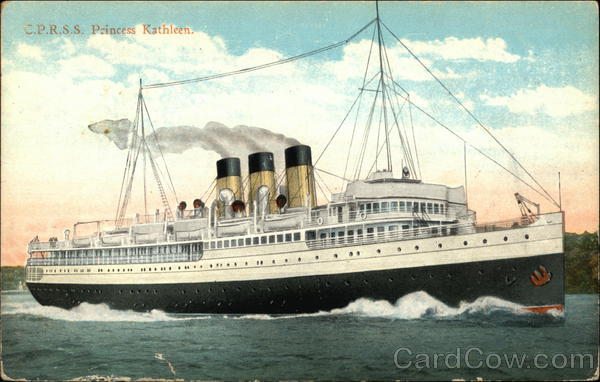 C.P.R.S.S. Princess Kathleen Steamers