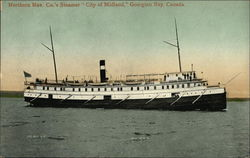"Northern Nav. Co.'s Steamer ""City of Midland"""