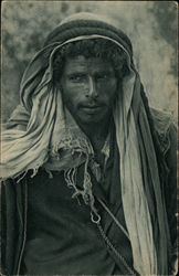 A Bedouin In His Happy Mood