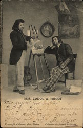 Two Artists at an Easel