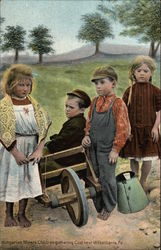 Hungarian Miners Children