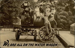We Are All On The Water Wagon