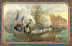 Washington's Reception at New York