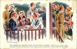 The American Theater Wing Stage Door Canteen