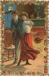 Couple Dancing on Halloween