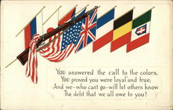 Flags of WWI Allies