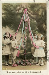 Children Around the May Pole