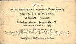 Invitation - You Are Cordially Invited To Attend A Dance